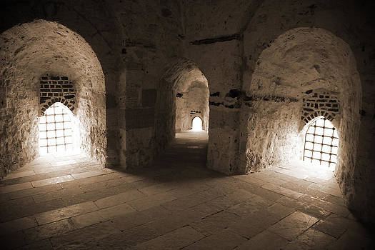 Three Arches in Qaitbay by Donna Corless