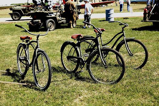 Three Bikes by Sheri Bartay