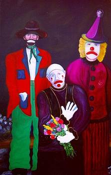 Catherine Kurchinski - Three Blue Clowns
