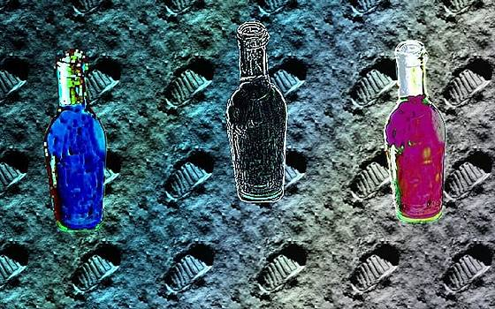 Three Bottles by Michael Hickey