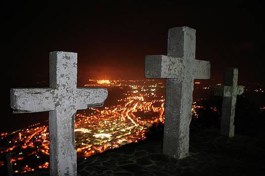 Three Crosses by La Dolce Vita