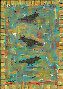 Three Crows by Lisa Buchanan