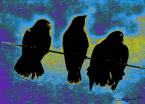 Three Crows by YoMamaBird Rhonda