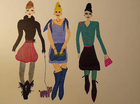 Nancy Fillip - Three Divas