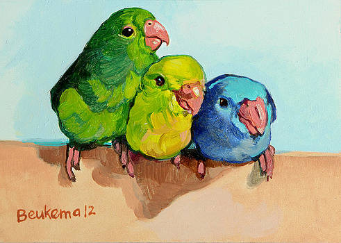 Three Friends by Debbie Beukema