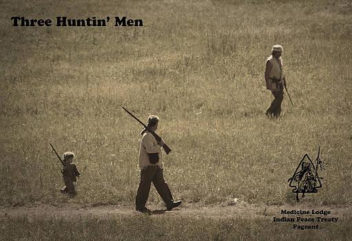 Three Huntin' Men by Bret D Rouse