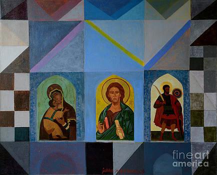 Three Icons by Jukka Nopsanen