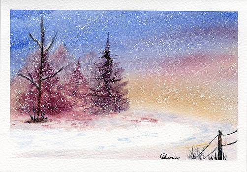 Three Pines by Wendy Cunico