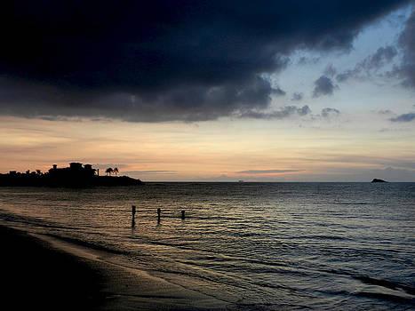 Stuart Brown - Three Sentinels At Sunset