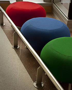 Three stools by Don Krajewski