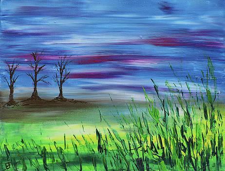 Three Trees by Erik Tanghe