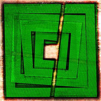 Thrilling Green Marker  by Florin Birjoveanu