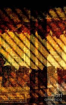 Through glass and metal by Leela Arnet