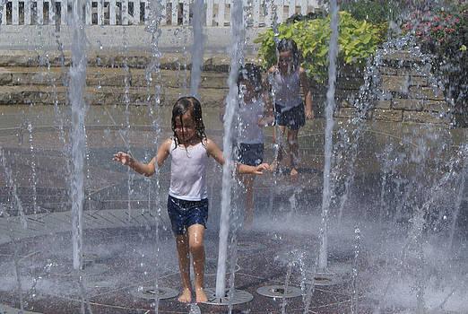 Through The Fountain by Karen Puckett