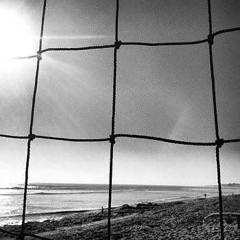 Through The Net. #clouds #california by Veronica Rains
