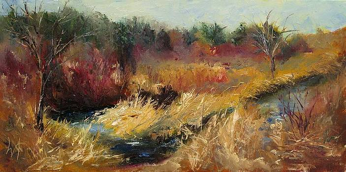 Through the Red Twigs by Wendie Thompson