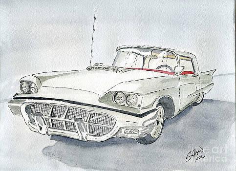 Thunderbird 1960 by Eva Ason