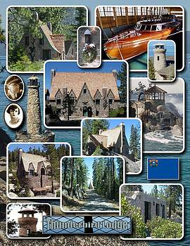 Thunderbird Lodge Montage by Edward Hass