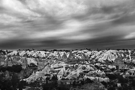 Kantilal Patel - Thunderous morning over Cappadocia