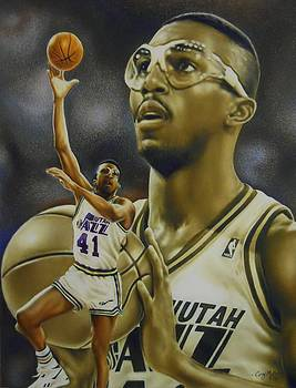 Thurl Bailey by Cory McKee