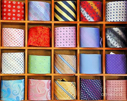 Ties on the shelf  by Alexander Chaikin