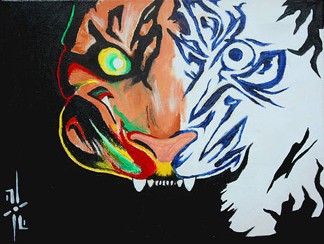 Tiger by Riley Howlett