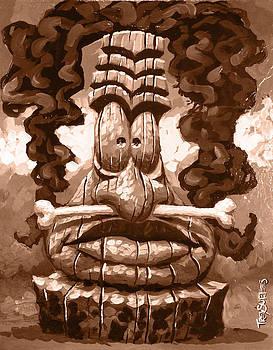 Tiki Bone by Trey Surtees