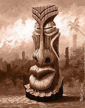 Tiki Chief by Trey Surtees