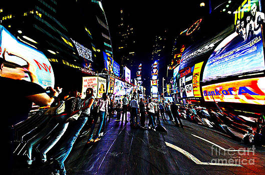 Pravine Chester - Times Square at Night