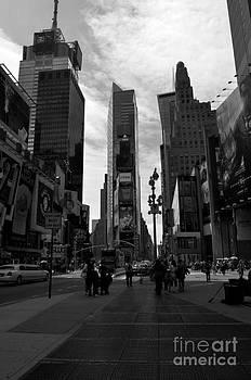 Pravine Chester - Times Square in Monochrome