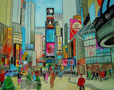 Times Square -sold by Lou Cicardo