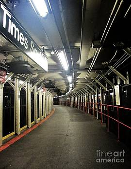 Times Square Subway by Maria Scarfone