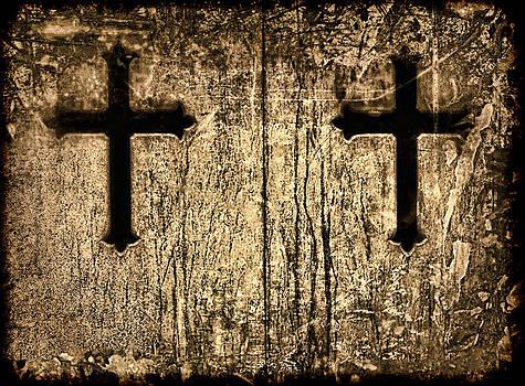 TONY GRIDER - Tinted Sepia Cross Duet