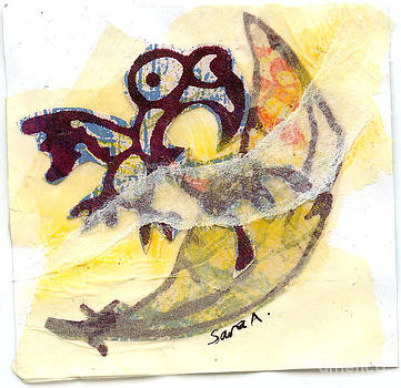 Tiny Little Bird in a Great Big Whorld by Sara Alexander Munoz