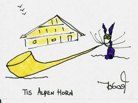 Tis AlpenHorn by Tis Art