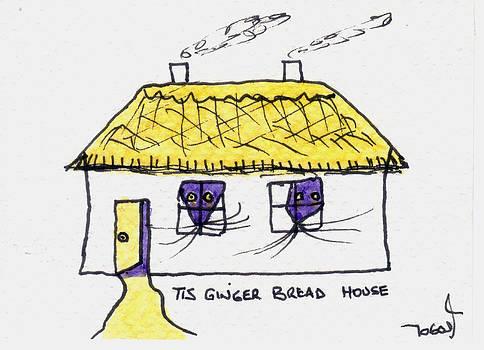 Tis Gingerbread House by Tis Art