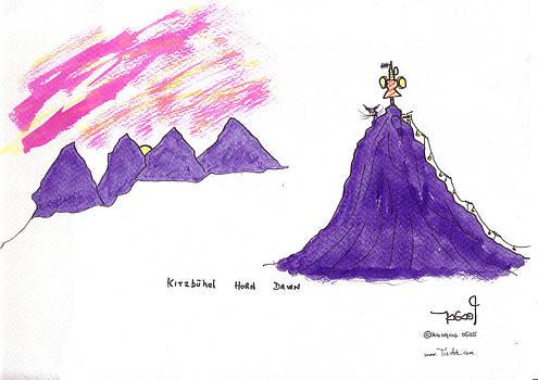 Tis on Kitzbuhel Horn by Tis Art