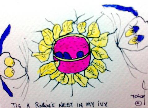 Tis Robin's Nest by Tis Art