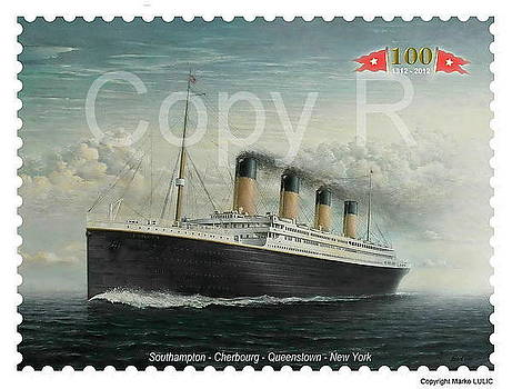 TITANIC Memorial stamp by Marko Lulic