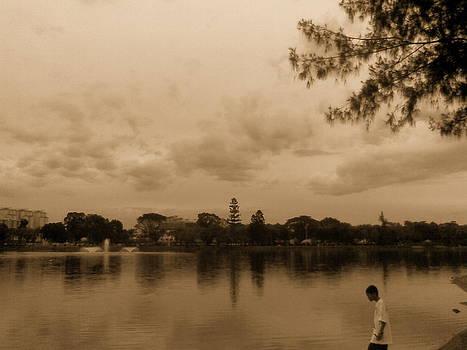 Titiwangsa Lake in Malaysia by Eva Tay