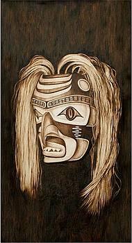 Tlingit shark Mask by Cynthia Adams
