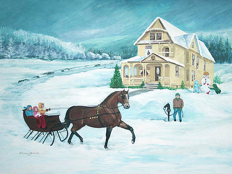 To Great Aunt Nora's by LaReine McIlrath