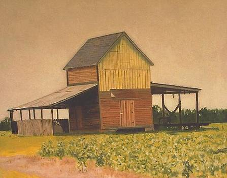 Tobacco Barn by Terry Forrest