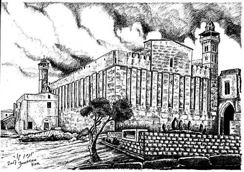 Tomb Avraam by Jonatan Kor