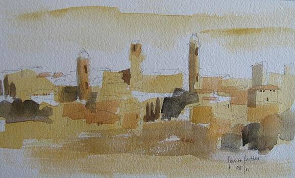 Tonal Landscape by Janet Butler