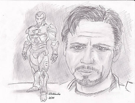 Chris  DelVecchio - Tony Stark- Ironman