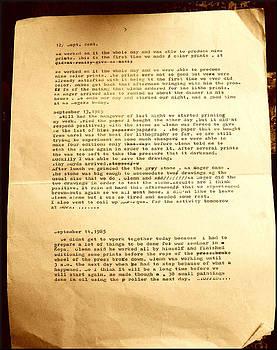 Glenn Bautista - TonyG Litho-Notes5 1985