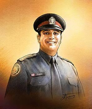 Toronto Police Constable Tony Vella by Alex Tavshunsky
