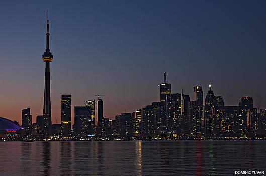 Toronto Skyline by Dominic Yuvan