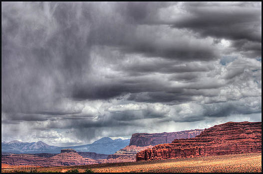 Torrent in Moab by Stellina Giannitsi